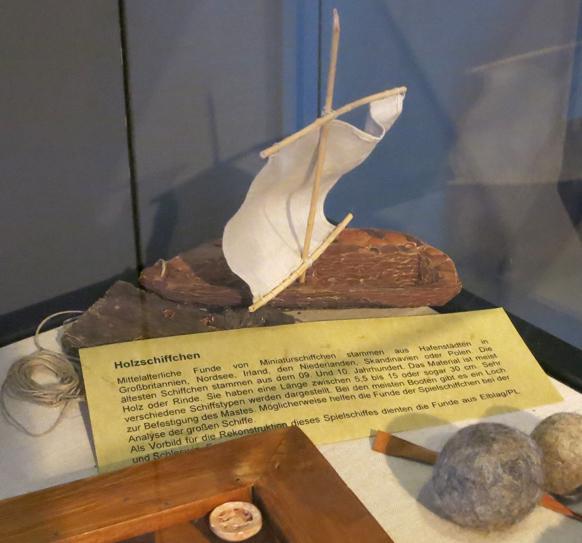 Das Rindenschiffchen im Museum!