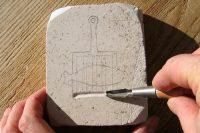 Mittelalterspielzeug: Zinnminiaturen, Herstellen der Gussform