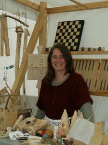 Doris Fischer, Spielen wie im Mittelalter