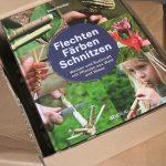 Flechten, Färben, Schnitzen - Buchpaket
